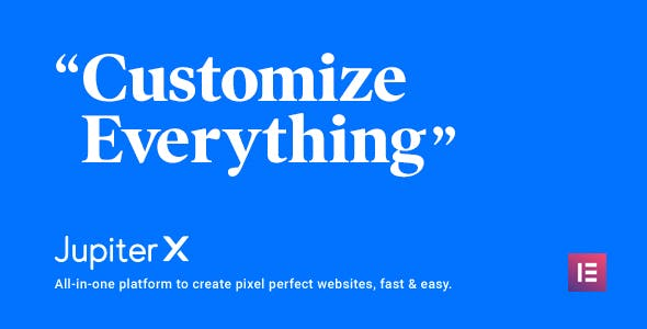 Jupiter X WordPress theme