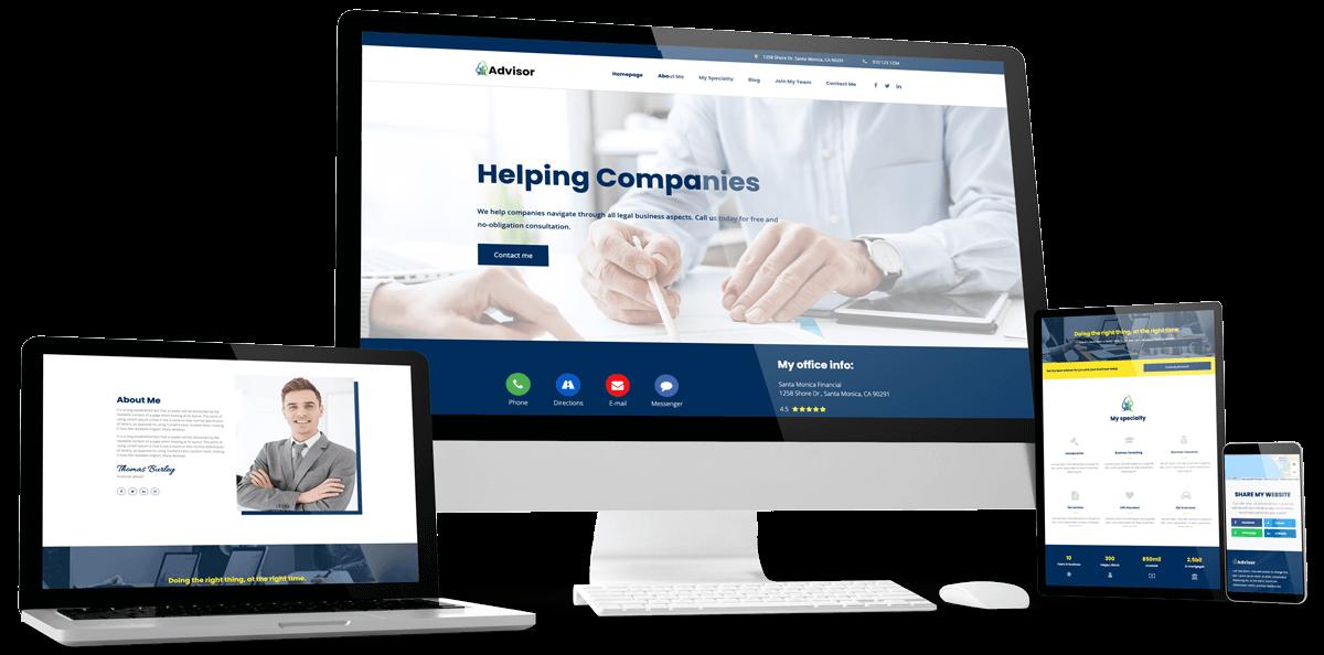 Advisor website