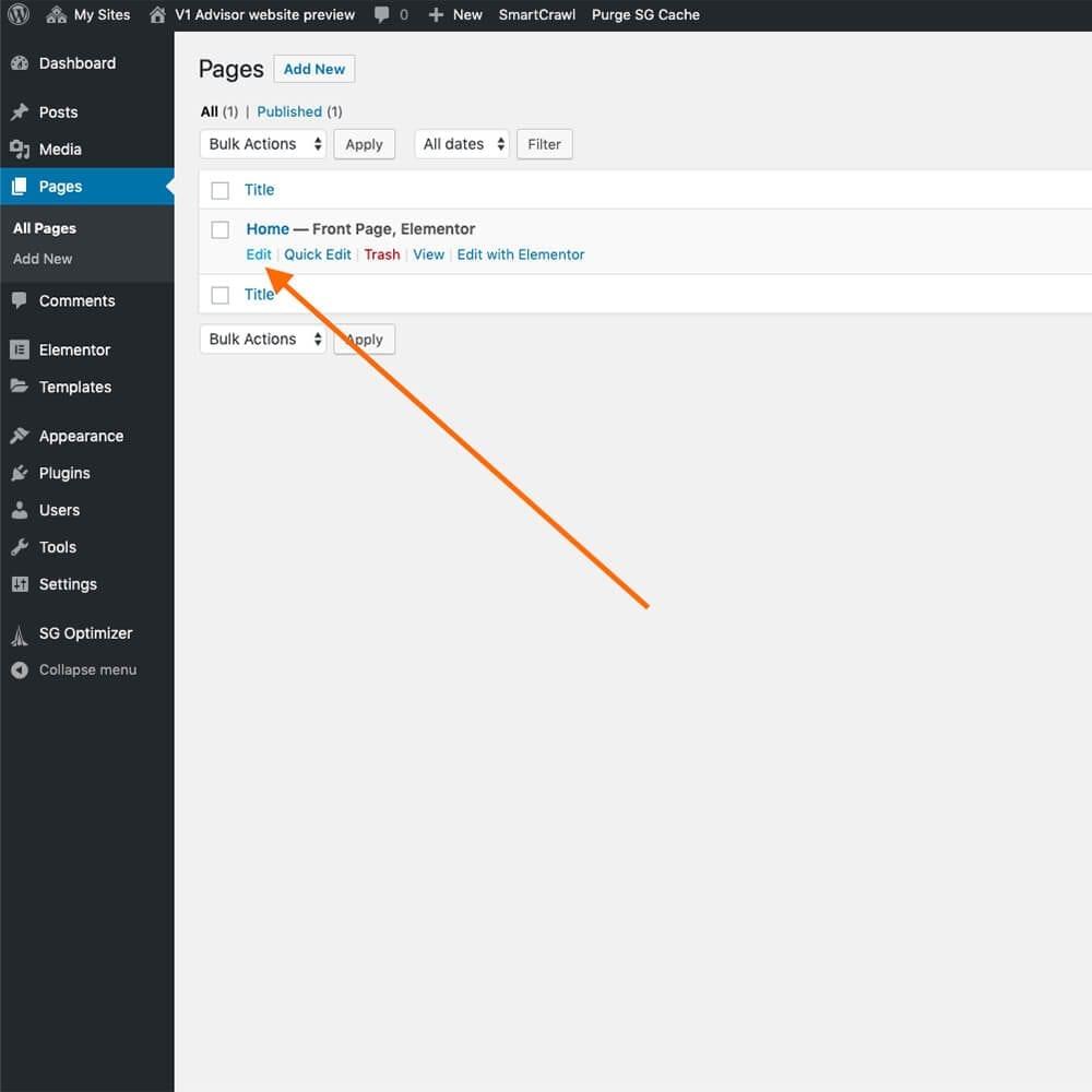 WordPress pages or posts SEO setting using Smart Crawl SEO plugin