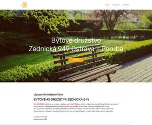Bytové družstvo Zednická 949 Ostrava - Poruba