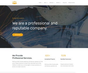 Builder - Construction website
