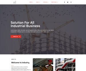 Factory - Construction website