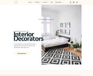 Interior Design - Decorator website