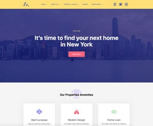 Real Estate Business website